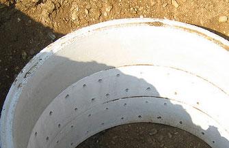 Brunnenringe Aus Beton Zum Brunnen Bauen