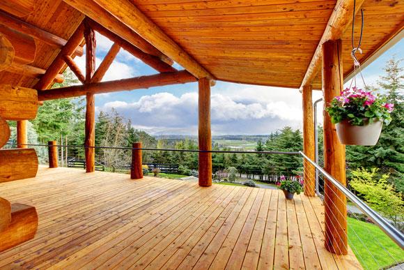 Kanadisches blockhaus modern  Blockhaus aus Holz – Vorteile, Nachteile und Kosten