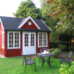 gartenhaus-rot