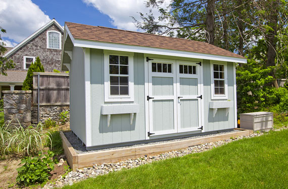 moderne gartenhütte