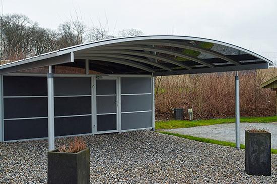Großartig Carport aus Holz und Metall - unser großer Ratgeber - Preise und  KO51